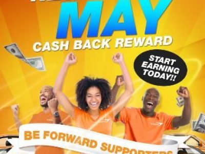 New May Cash Back Reward