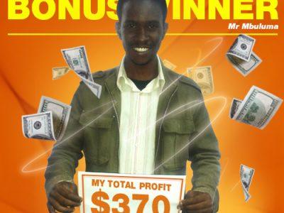 Mr Kondwani Mbuluma Malawi Winner