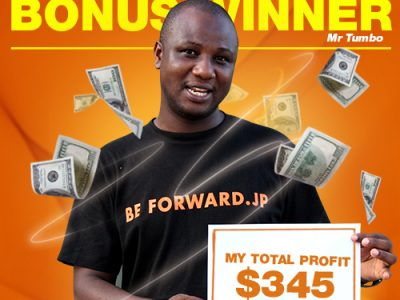 April Campaign 2nd Bonus Winner: Mr. Rashid Tumbo