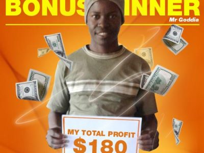 August Campaign 5th Bonus Winner: Mr. Weston Goddia