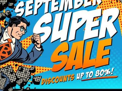 September Super Sale Find The Best Deal Today!
