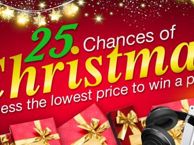 BE FORWARD's 25 Chances of Christmas Giveaways