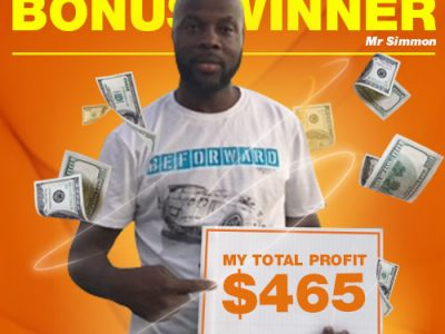 October Campaign 1st Bonus Winner: Mr Dirk Simmons