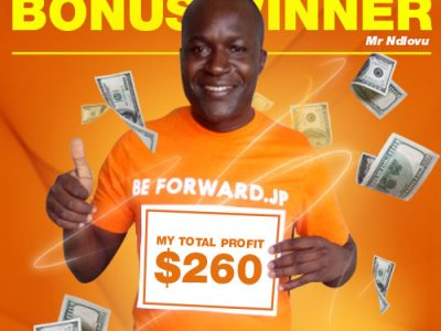 October Campaign 5th Bonus Winner: Mr. Moses Kagimu