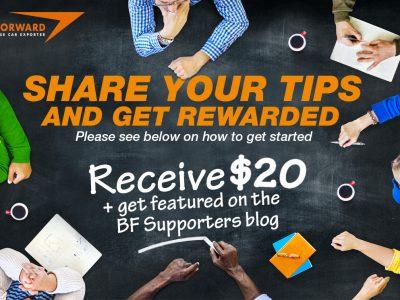 Share Some Tips, Gain Trust & Earn a Reward!