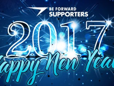 Happy New Year BE FORWARD SUPPORTERS