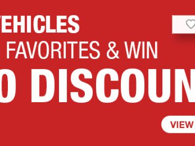 """New Weekend Campaign For """"Favorites""""   Use & Win $100"""