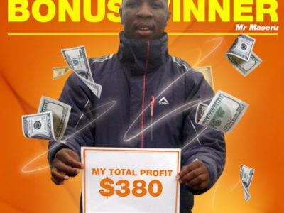January Campaign 4th Bonus Winner: Pule Maseru