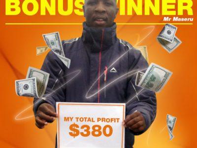 January Campaign 4th Bonus Winner: Pule Maseru