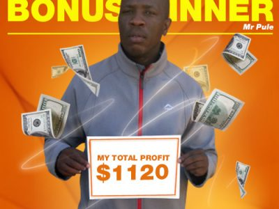 February Campaign 2nd Bonus Winner: Pule Maseru