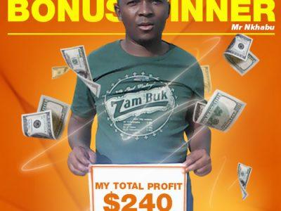 February Campaign 5th Bonus Winner: Khothatso Nkhabu