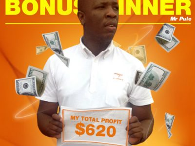 March Campaign 1st Bonus Winner: Tanki Pule