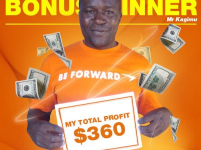 March Campaign 5th Bonus Winner: Moses Kagimu