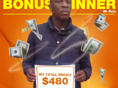 April Campaign 3rd Bonus Winner: Tanki Pule