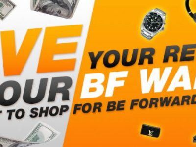 Save Your Rewards in BF Wallet and Use it to Shop for BE FORWARD Bargains!
