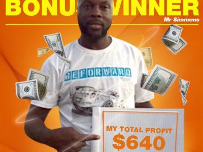 May Campaign 1st Bonus Winner: Dirk Simmons