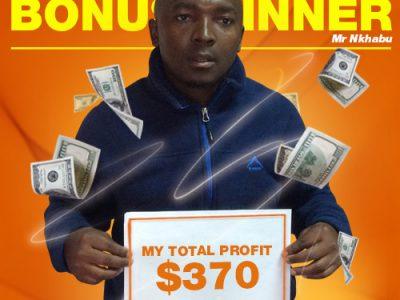 May Campaign 4th Bonus Winner: Khothatso Nkhabu