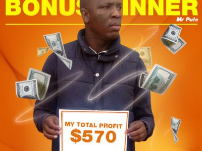 May Campaign 3rd Bonus Winner: Tanki Pule