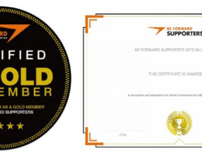 BFS Gold Members Started Receiving Certificates!