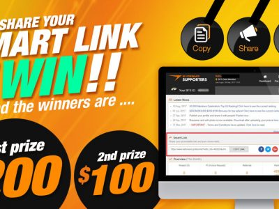 [ENDED]Win $200! Share Your Smart Link, Marketing Materials and Comment on #bfsupporters