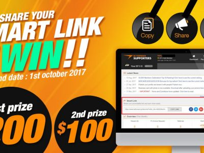 Share Your Smart Link and Win $200!