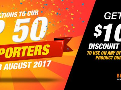 Top 50 Sellers for the 50,000 Members Celebration Promotion!