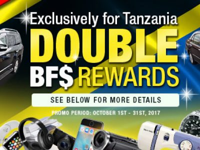 [Extended] Buy One Get Double Reward!(ONLY for TANZANIA)