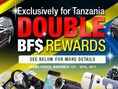[Last Chance] Buy One Get Double Reward!(ONLY for TANZANIA)