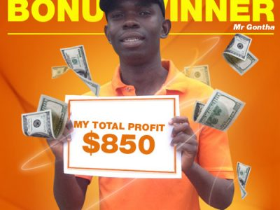 October Campaign 2nd Bonus Winner: Mr. Dennis Gontha
