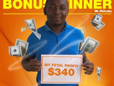October Campaign 5th Bonus Winner: Mr. Khothatso Nkhabu