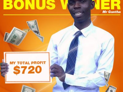 January Campaign 3rd Bonus Winner: Mr. Dennis Gontha.