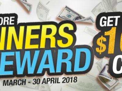 More Winners Bigger Reward