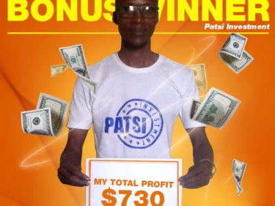 January Campaign 5th Bonus Winner: Patsi Investment.