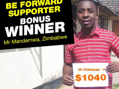 More Winners Bigger Reward 5th Bonus Winner: <br> Mr. Tapiwa T Mandemwa.
