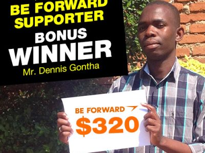 September Campaign 4th Bonus Winner: Mr.Dennis Gontha