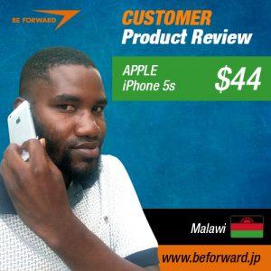 Jacob mwakajumba Apple-iPhone5s--$44--Malawi