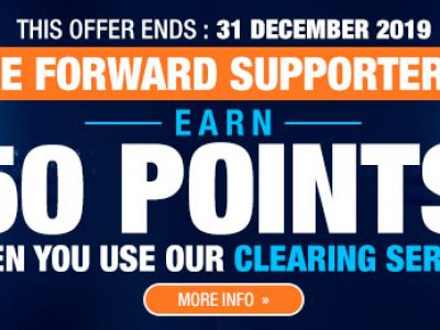 <b>50 Points by using BE_FORWARD Tanzania – Clearing Service</b> (July 1st – December 31st – 2019)