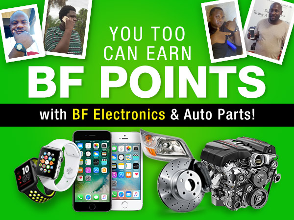 BF Points For Reviews